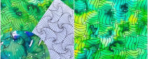 Podklad pro Zentangle vzory