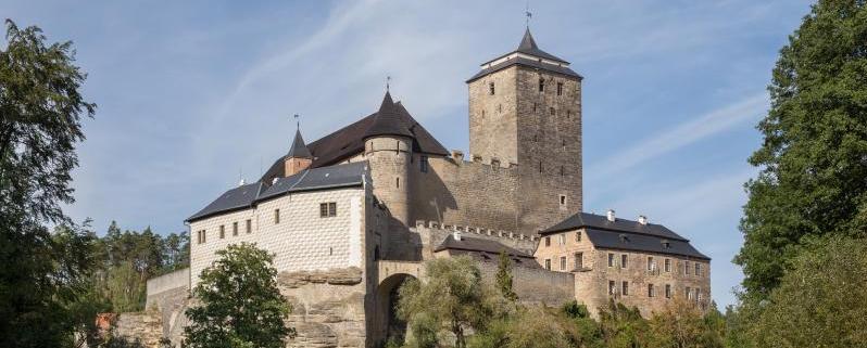 Procházka kolem hradu Kost