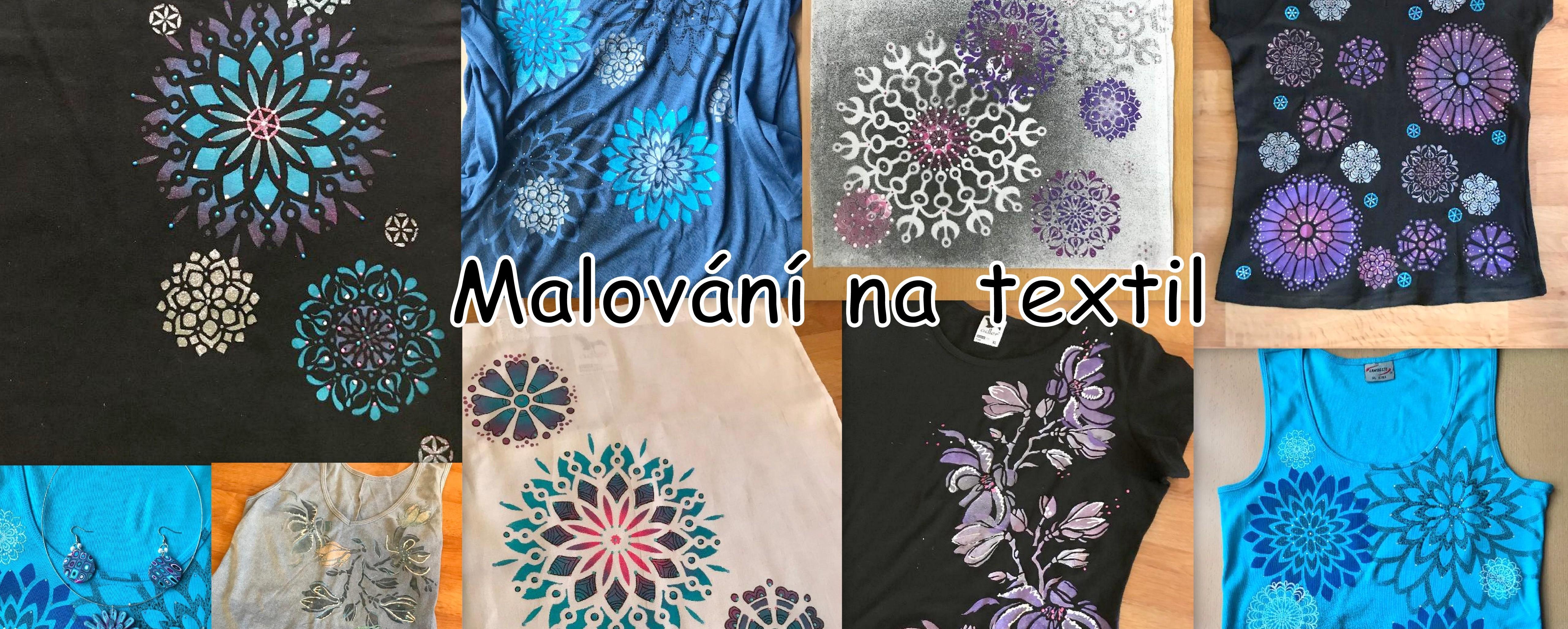 Kurz malování na textil