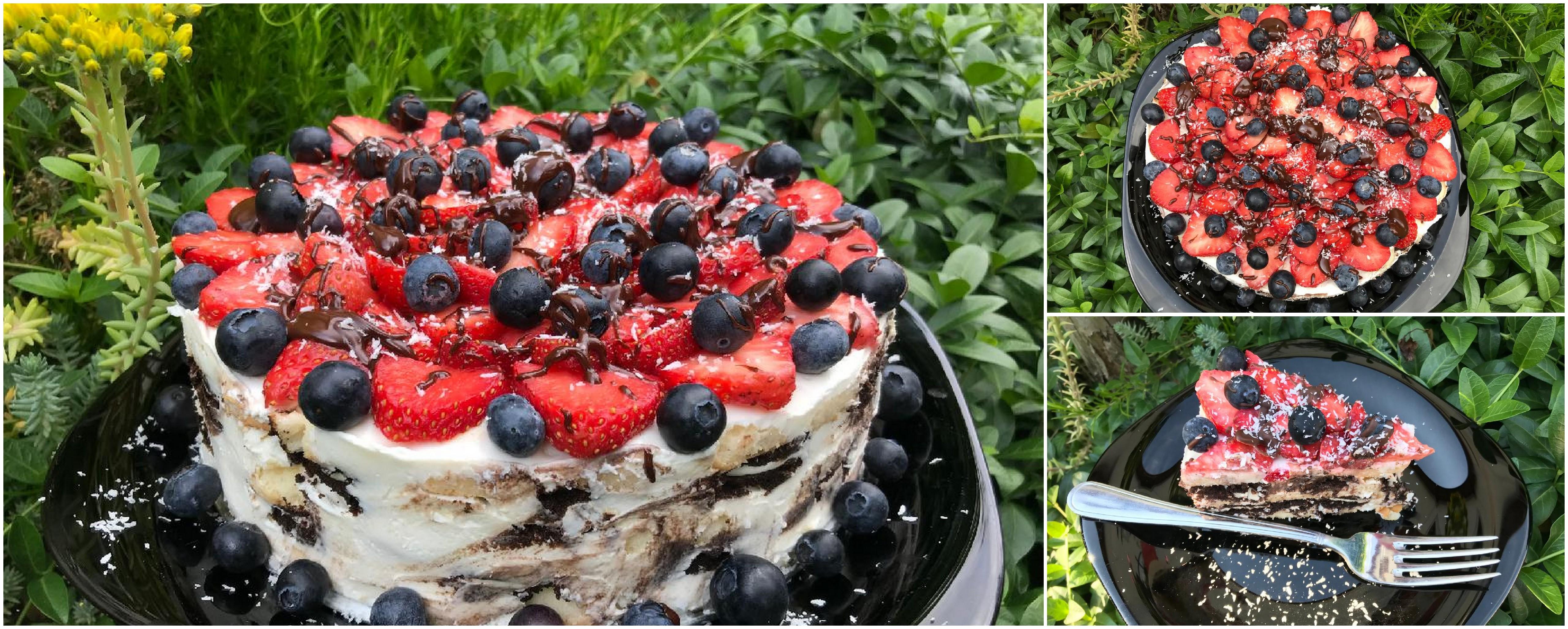 Sušenkový dortík