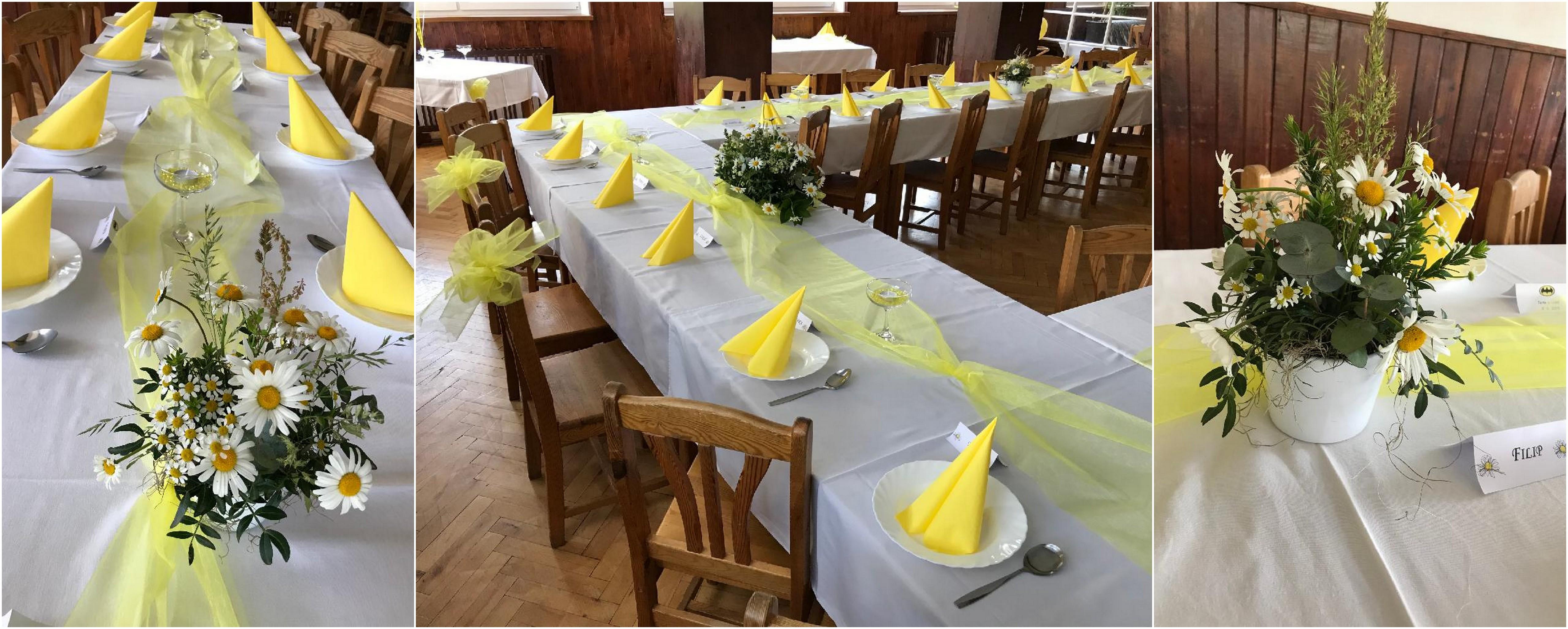Svatba ve žlutém